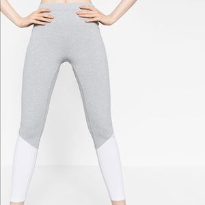 New Zara Sport Leggings Tights Sz S
